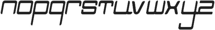 NUNU Bold Italic otf (700) Font LOWERCASE