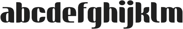 Nudely Bold One otf (700) Font LOWERCASE