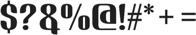 Nudely Medium One otf (500) Font OTHER CHARS
