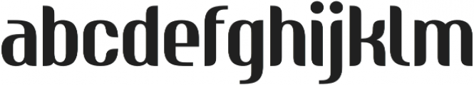 Nudely Regular One otf (400) Font LOWERCASE