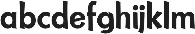 NuevoLithoPro Regular otf (400) Font LOWERCASE
