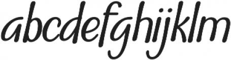 Nuit otf (400) Font LOWERCASE