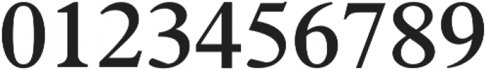 Number 23 SemiBold otf (600) Font OTHER CHARS