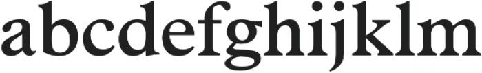 Number 23 SemiBold otf (600) Font LOWERCASE