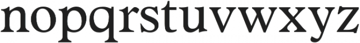 Number 23 otf (400) Font LOWERCASE