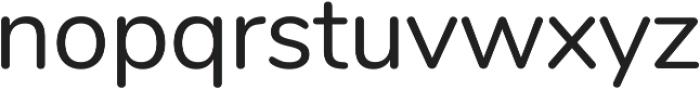 Nunito ttf (400) Font LOWERCASE