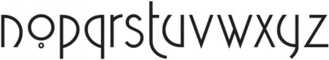 NuovoDeco-Regular otf (400) Font LOWERCASE