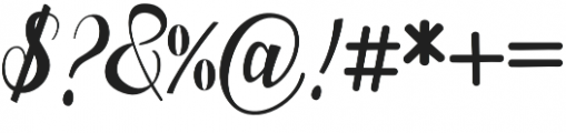 Nurrillia otf (400) Font OTHER CHARS