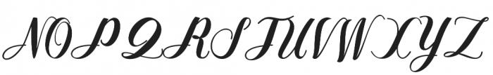 Nurrillia otf (400) Font UPPERCASE