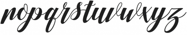 Nurrillia otf (400) Font LOWERCASE