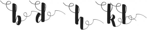 Nurture Terminal ttf (400) Font LOWERCASE