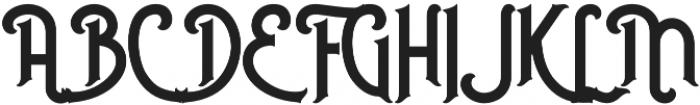 Nusantara otf (400) Font UPPERCASE