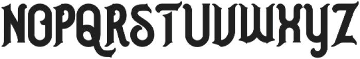 Nusantara otf (400) Font LOWERCASE