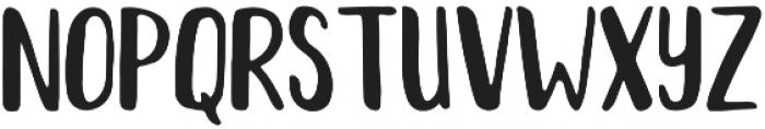 Nutella otf (400) Font UPPERCASE
