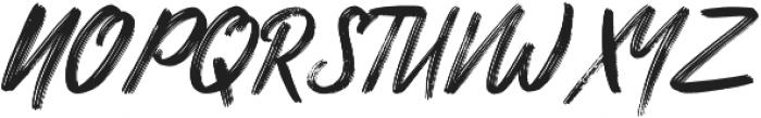 Nuttyclash ligature otf (400) Font UPPERCASE