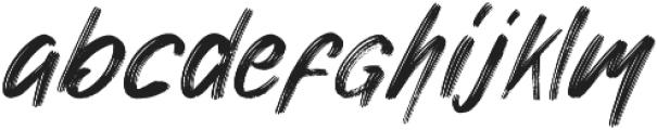 Nuttyclash otf (400) Font LOWERCASE