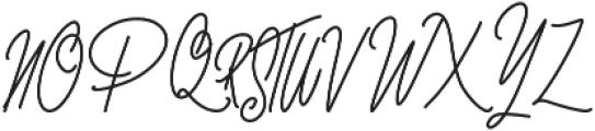 nuvaticia otf (400) Font UPPERCASE