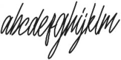 nuvaticia otf (400) Font LOWERCASE