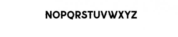 Nuevo.ttf Font UPPERCASE