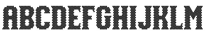 NUAZ Font UPPERCASE
