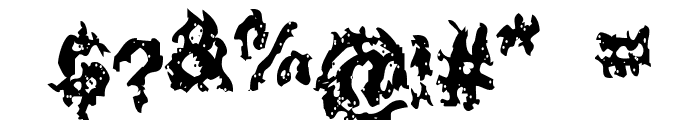 Nuclear Blast Font OTHER CHARS