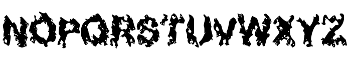 Nuclear Blast Font UPPERCASE