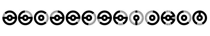 Nucleus BRK Font LOWERCASE