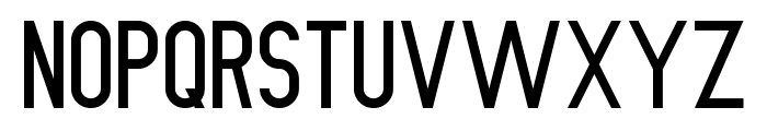 Nue Gothic Regular Font LOWERCASE