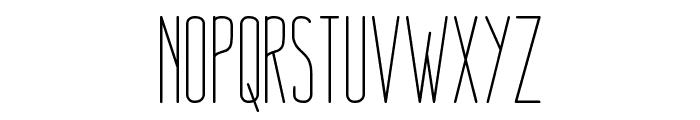 Nue Light Font UPPERCASE