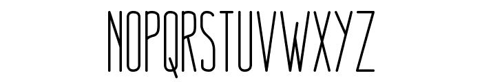 Nue Medium Font UPPERCASE
