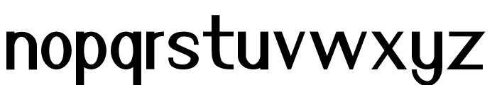 Nuevo Demo Font LOWERCASE