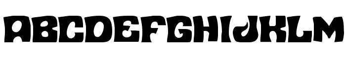 Nuevo Passion Condensed Font UPPERCASE