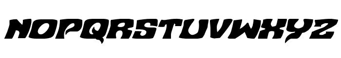 Nuevo Passion Italic Font UPPERCASE