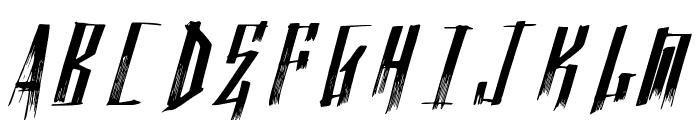 NuevoTrenta Font UPPERCASE