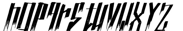 NuevoTrenta Font LOWERCASE