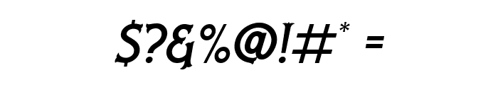 Nufced DEMO Italic Font OTHER CHARS