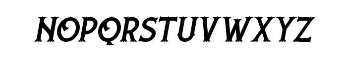 Nufced DEMO Italic Font LOWERCASE