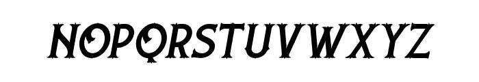 NufcedDEMO-Italic Font LOWERCASE