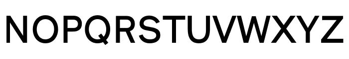 Nugget Medium Font UPPERCASE