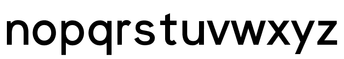 Nugget Medium Font LOWERCASE