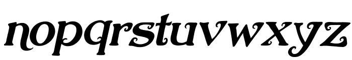 Nugie Romantic Italic Font LOWERCASE