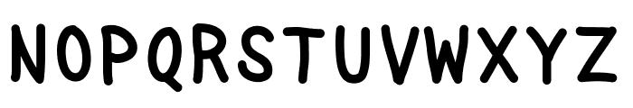 NukaMono Font UPPERCASE