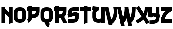 Nuku Nuku Font UPPERCASE
