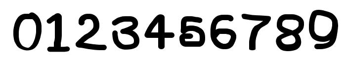 NumbBunny Black Font OTHER CHARS