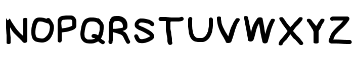 NumbBunny Black Font UPPERCASE
