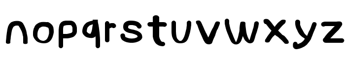 NumbBunny Black Font LOWERCASE