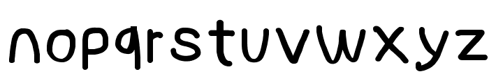 NumbBunny Bold Font LOWERCASE