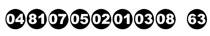 Numbaaz-EEN Font OTHER CHARS