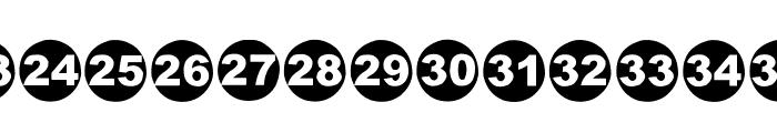 Numbaaz-EEN Font LOWERCASE