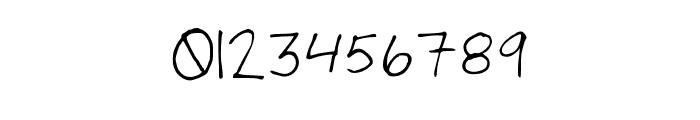Number Cruncher Hand Medium Font OTHER CHARS